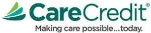 Care Credit financing payment plans available at Carson & Carson, DDS in Oxnard, CA.