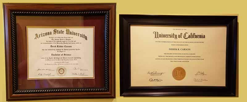 University Degrees & Certifications
