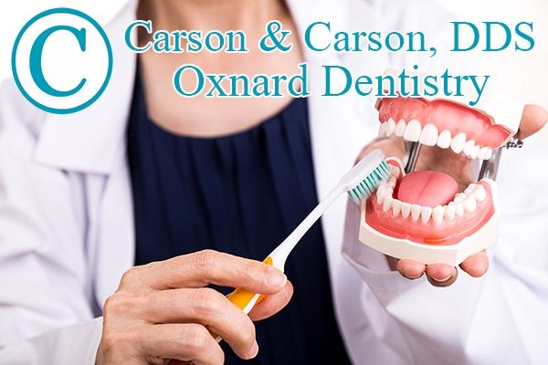 Oxnard Dentistry Carson & Carson, DDS Teeth Brushing Example
