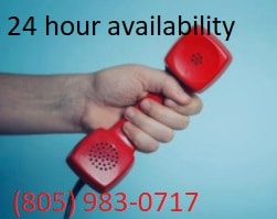 We are available 24 hours a day at Carson & Carson, DDS in Oxnard, California for emergency dental treatment.