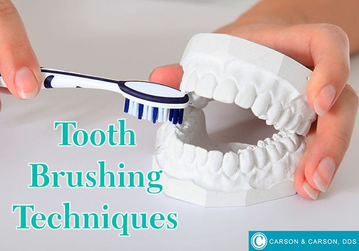 Tooth brushing techniques