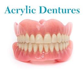 Set of Acrylic Dentures