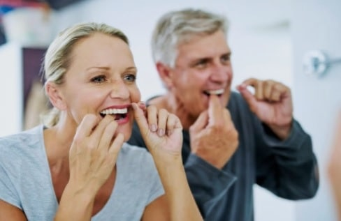 Flossing is essential for the oral health of individuals of all ages.